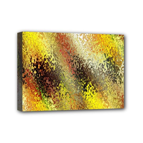 Multi Colored Seamless Abstract Background Mini Canvas 7  x 5