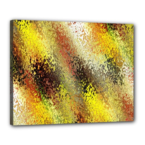 Multi Colored Seamless Abstract Background Canvas 20  X 16