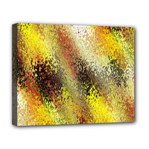 Multi Colored Seamless Abstract Background Deluxe Canvas 20  x 16