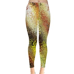 Multi Colored Seamless Abstract Background Leggings