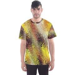 Multi Colored Seamless Abstract Background Men s Sport Mesh Tee