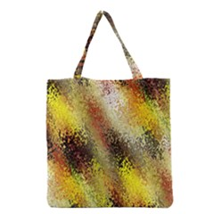 Multi Colored Seamless Abstract Background Grocery Tote Bag