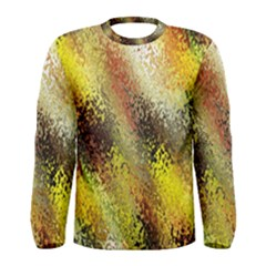 Multi Colored Seamless Abstract Background Men s Long Sleeve Tee