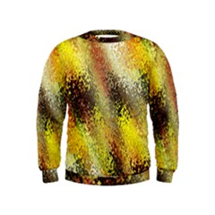 Multi Colored Seamless Abstract Background Kids  Sweatshirt
