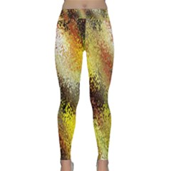 Multi Colored Seamless Abstract Background Classic Yoga Leggings