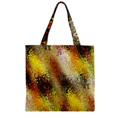 Multi Colored Seamless Abstract Background Zipper Grocery Tote Bag