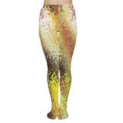 Multi Colored Seamless Abstract Background Women s Tights