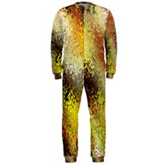 Multi Colored Seamless Abstract Background OnePiece Jumpsuit (Men)