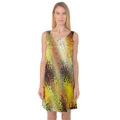 Multi Colored Seamless Abstract Background Sleeveless Satin Nightdress