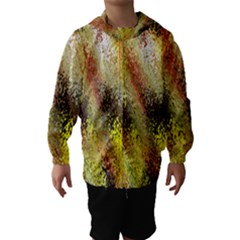 Multi Colored Seamless Abstract Background Hooded Wind Breaker (kids)