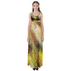 Multi Colored Seamless Abstract Background Empire Waist Maxi Dress