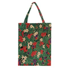 Berries And Leaves Classic Tote Bag