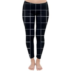 Abstract Clutter Classic Winter Leggings