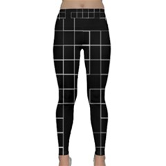 Abstract Clutter Classic Yoga Leggings