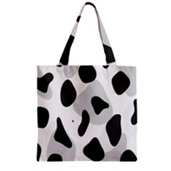 Abstract Venture Zipper Grocery Tote Bag