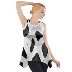 Abstract Venture Side Drop Tank Tunic