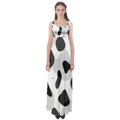 Abstract Venture Empire Waist Maxi Dress
