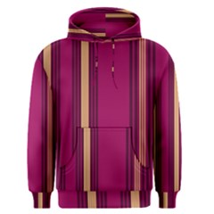 Stripes Background Wallpaper In Purple Maroon And Gold Men s Pullover Hoodie