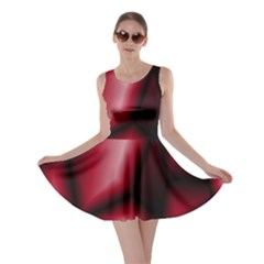 Red Abstract Background Skater Dress