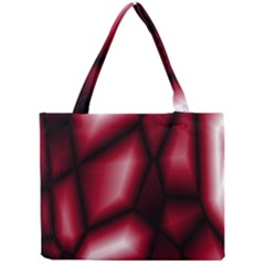Red Abstract Background Mini Tote Bag