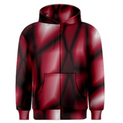 Red Abstract Background Men s Zipper Hoodie