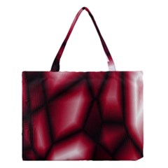 Red Abstract Background Medium Tote Bag