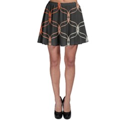 Cadenas Chinas Abstract Design Pattern Skater Skirt