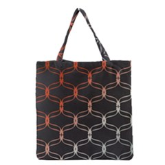 Cadenas Chinas Abstract Design Pattern Grocery Tote Bag