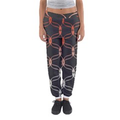 Cadenas Chinas Abstract Design Pattern Women s Jogger Sweatpants