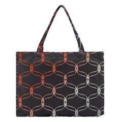 Cadenas Chinas Abstract Design Pattern Medium Tote Bag