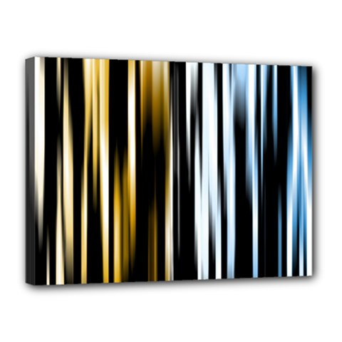 Digitally Created Striped Abstract Background Texture Canvas 16  X 12