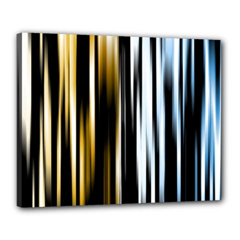 Digitally Created Striped Abstract Background Texture Canvas 20  X 16