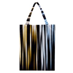 Digitally Created Striped Abstract Background Texture Classic Tote Bag