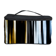 Digitally Created Striped Abstract Background Texture Cosmetic Storage Case
