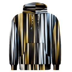 Digitally Created Striped Abstract Background Texture Men s Pullover Hoodie