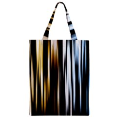 Digitally Created Striped Abstract Background Texture Zipper Classic Tote Bag