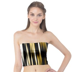 Digitally Created Striped Abstract Background Texture Tube Top