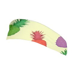 Colorful Pineapples Wallpaper Background Stretchable Headband