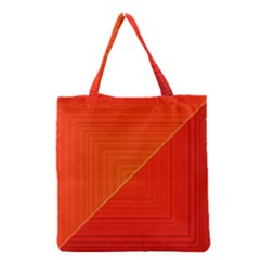 Abstract Clutter Baffled Field Grocery Tote Bag