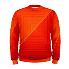 Abstract Clutter Baffled Field Men s Sweatshirt