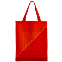 Abstract Clutter Baffled Field Zipper Classic Tote Bag