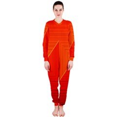 Abstract Clutter Baffled Field Onepiece Jumpsuit (ladies)
