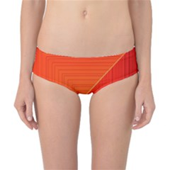Abstract Clutter Baffled Field Classic Bikini Bottoms