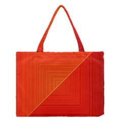 Abstract Clutter Baffled Field Medium Tote Bag
