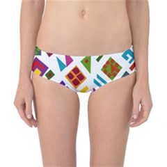 A Colorful Modern Illustration For Lovers Classic Bikini Bottoms