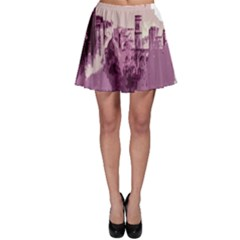 Abstract Painting Edinburgh Capital Of Scotland Skater Skirt