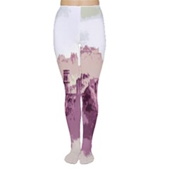 Abstract Painting Edinburgh Capital Of Scotland Women s Tights