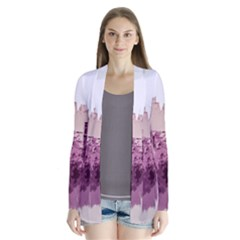 Abstract Painting Edinburgh Capital Of Scotland Cardigans
