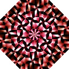 Red And Pink Abstract Background Folding Umbrellas