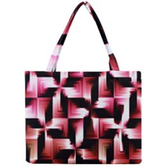 Red And Pink Abstract Background Mini Tote Bag